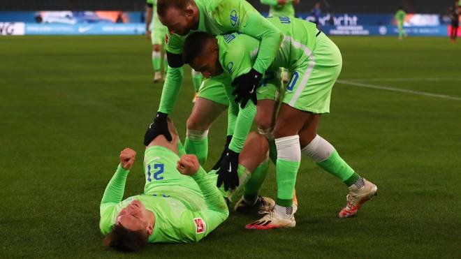 Der VfL Wolfsburg schob sich vorerst auf Rang fünf