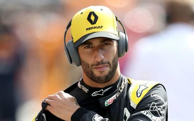 Daniel Ricciardo fährt seit 2019 für Renault in der Formel 1
