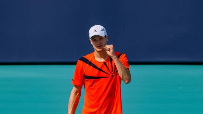 Yannick Hanfmann liegt auf Rang 99 der Weltrangliste