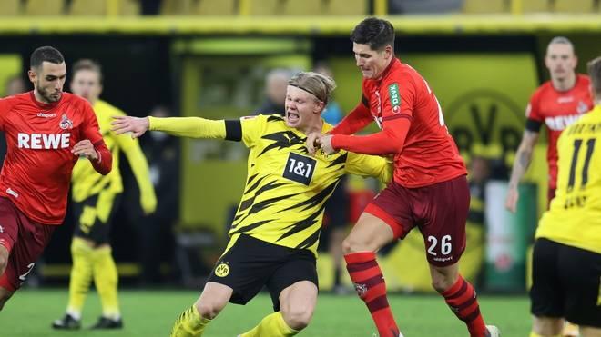 Starkes Debüt gegen den BVB: Cestic (r.), hier im Zweikampf mit Haaland