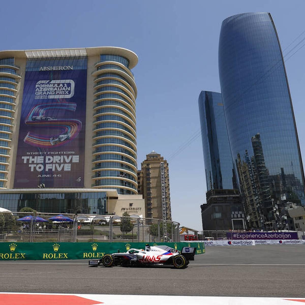 Formel 1: Fakten-Vorschau auf den GP von Baku