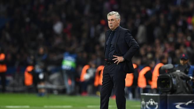 Carlo Ancelotti wurde nach dem 0:3 in Paris entlassen