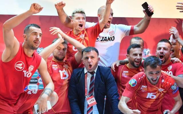 Nordmazedonien feiert den historischen Triumph in der Kabine