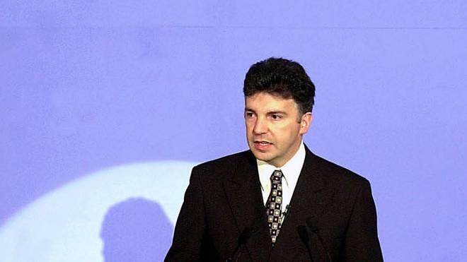 Michel Zen-Ruffinen, FIFA general-secretary, deliv
