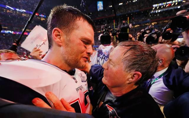 Tom Brady und Bill Belichick prägten eine Ära bei den Patriots