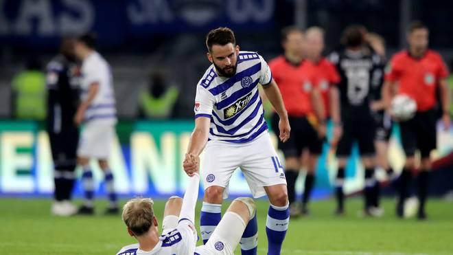 Der MSV Duisburg steigt aus Liga 2 ab