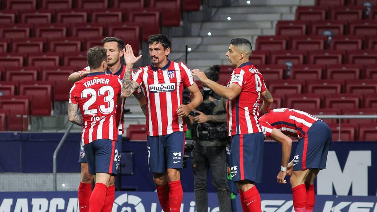 Atlético nutzt Barca-Patzer und greift nach dem Titel