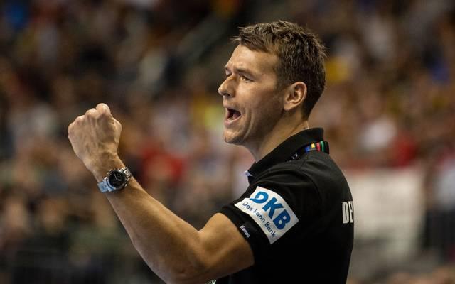 Handball-Bundestrainer Christian Prokop will die EM-Qualifikation erfolgreich abschließen