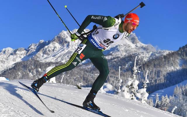 Für Arnd Peiffer lief der Saisonauftakt in Östersund nicht nach Wunsch