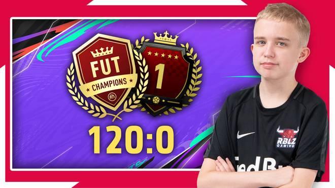 120:0 - Leipziger Nachwuchstalent Anders Vejrgang dominiert FIFA 21