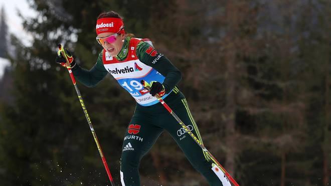 Katharina Hennig zeigte ein starkes Rennen