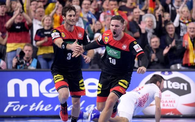 Fabian Wiede (r.) überragte gegen Kroatien