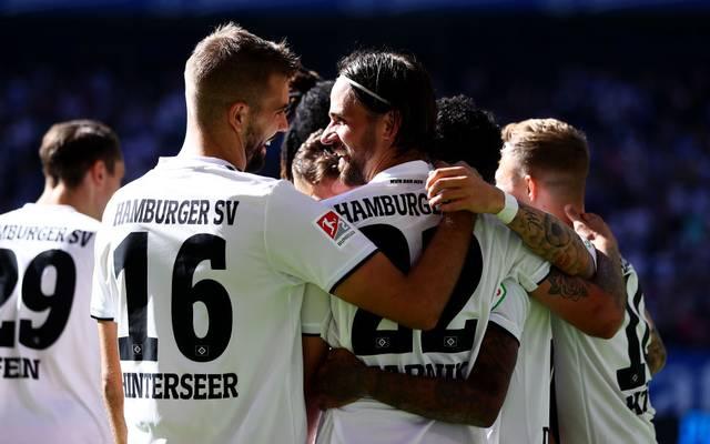 Lukas Hinterseer und Martin Harnik trafen für den HSV