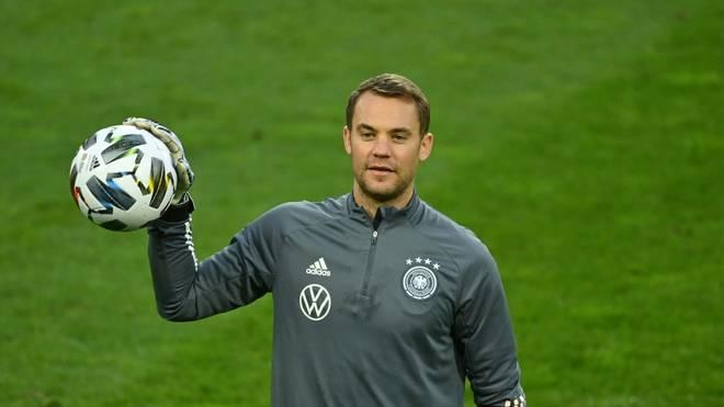 Neuer verstärkt DFB-Auswahl gegen die Ukraine