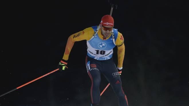 Arnd Peiffer verpasst eine Podestplatzierung im zweiten Sprint von Nove Mesto