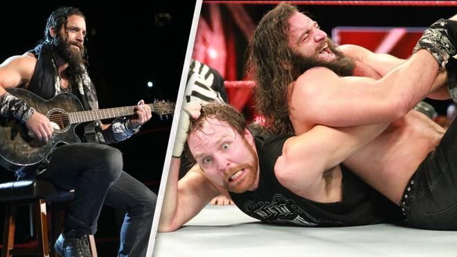 Elias Samson feierte sein Ring-Debüt bei WWE Monday Night RAW