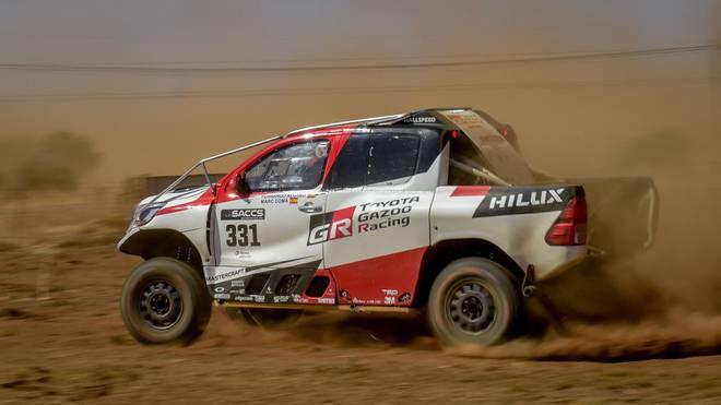 Fernando Alonso reiht sich beim Auftakt der Rallye Dakar kurz hinter den Top 10 ein