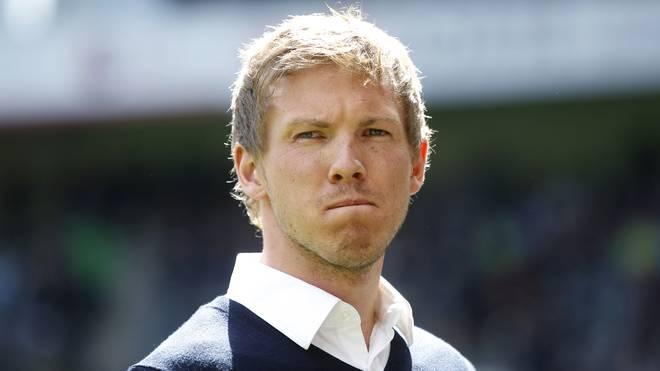 Julian Nagelsmann übernahm Hoffenheim während der Saison