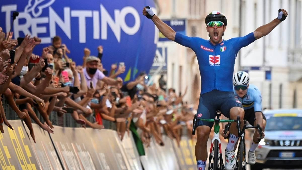 Sonny Colbrelli gewinnt Straßenrad-EM