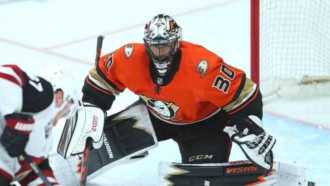 Ryan Miller spielt seit 2017 bei den Anaheim Ducks