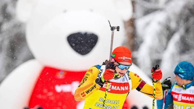 Benedikt Doll und das deutsche Team verpatzen den Sprint von Oberhof