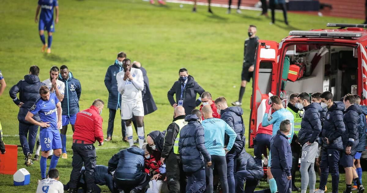 FC Porto: Nanú nach heftigem Zusammenprall mit Krankenwagen abtransportiert - SPORT1