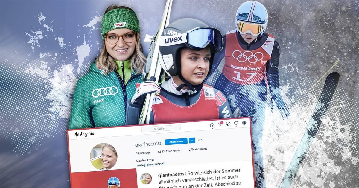 Skispringen: Gianina Ernst erklärt ihr Karriere-Aus mit 21