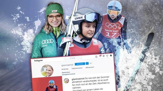 Gianina Ernst war als Skispringerin ein Top-Talent