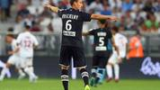 Bordeaux's French defender Laurent Koscielny gestures during the French L1 football match between FC Girondins de Bordeaux and Montpellier on August 17, 2019, at the Matmut Atlantique stadium in Bordeaux, southwestern France. (Photo by NICOLAS TUCAT / AFP)        (Photo credit should read NICOLAS TUCAT/AFP/Getty Images)