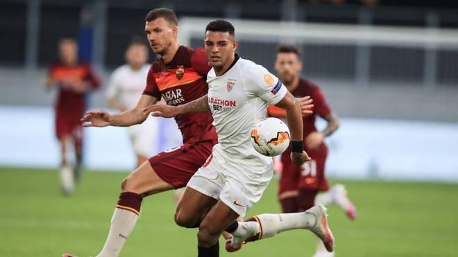 Der FC Sevilla setzte sich im Achtelfinale der Europa League gegen den AS Rom durch