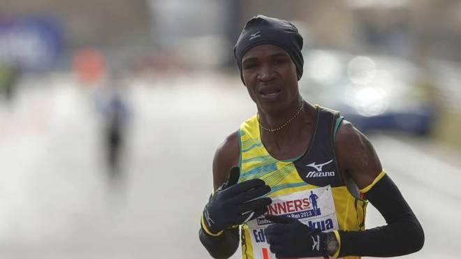 Edwin Mokua gewann 2020 den Halbmarathon in Trabzon