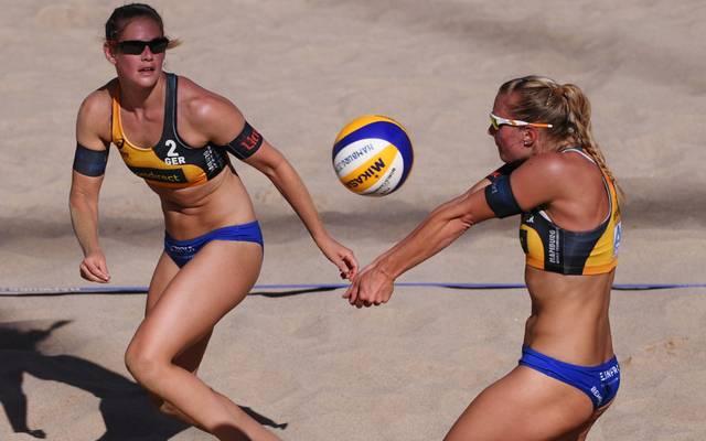 Das Beachvolleyball-Duo Behrens/Tillmann verklagt den DVV