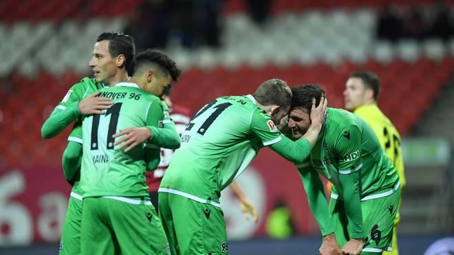 Die Spieler von Hannover 96 freuen sich auf den Restart