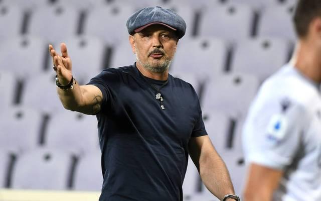 Sinisa Mihajlovic ist seit 2019 Trainer des FC Bologna