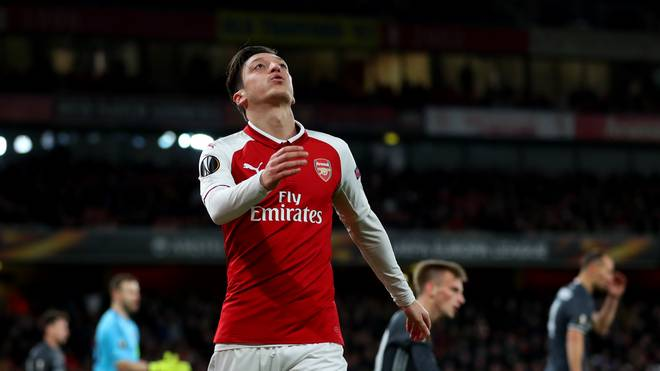 Mesut Özil fällt für den Rest der Saison aus