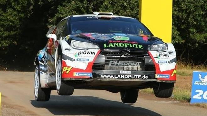 Marijan Griebel zeigte bei der Rallye Deutschland eine makellose Leistung