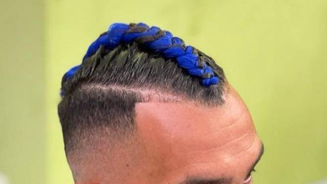 Fußballer lassen sich für die eigene Haarpracht gerne die verrücktesten Dinge einfallen