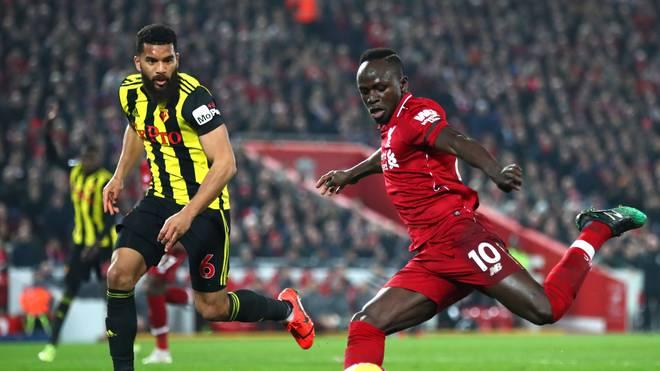 Sadio Mane war mit zwei Toren gegen den FC Watford der Mann des Abends