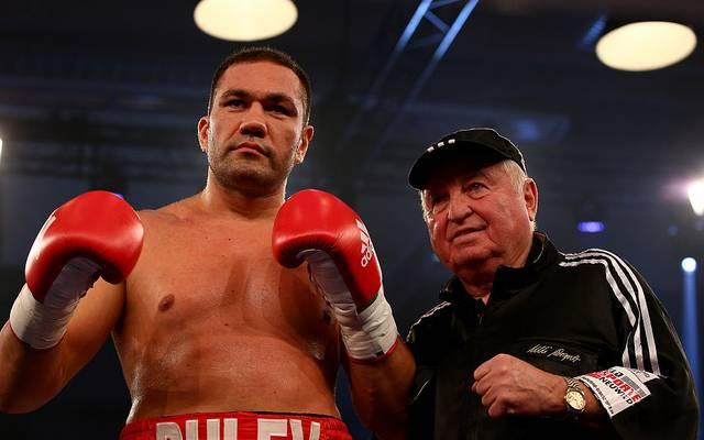 Kubrat Pulev (l.) und Ulli Wegner
