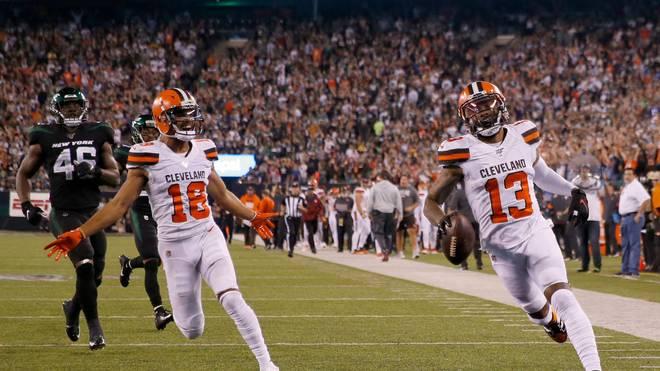 Sport-Tag: Browns schlagen Jets