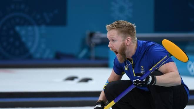 Gold für Schweden und Niklas Edin