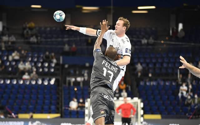 Auch Sander Sagosen (oben) konnte die Niederlage des THW Kiel gegen Nantes nicht verhindern