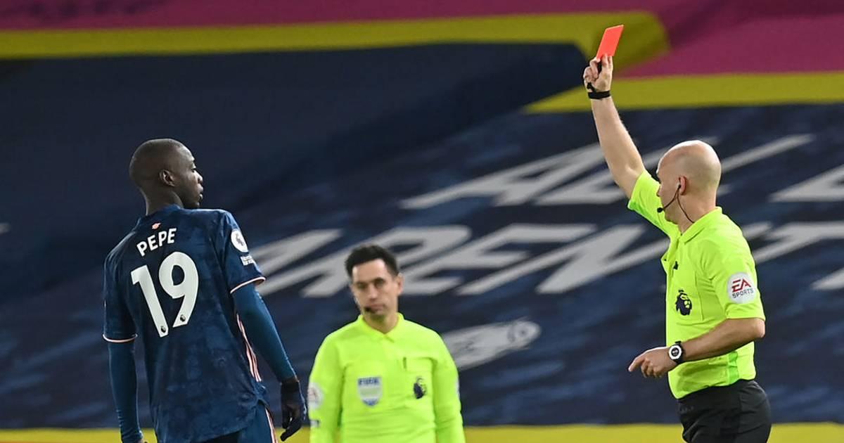 Premier League: Konsequenzen für Nicolas Pépé und Fans nach Roter Karte