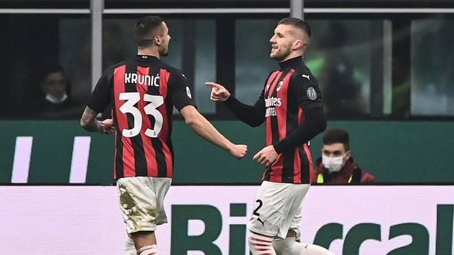 Milans Rebic trifft im Spitzenspiel gegen Lazio Rom