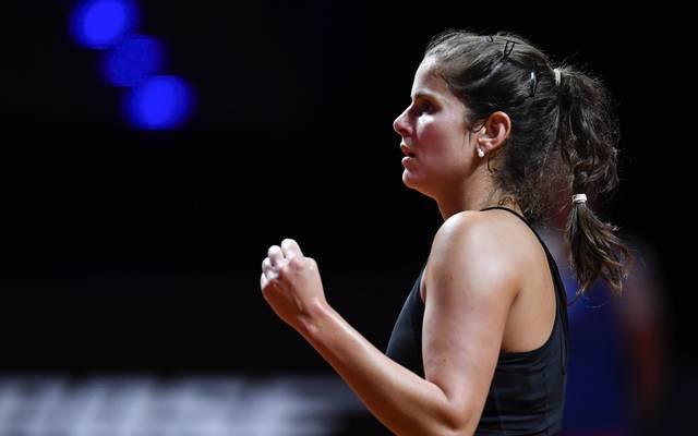 Tennis, WTA, Rom: Julia Görges nach Sieg über Hsieh Su-Wei in Runde zwei, Julia Görges steht beim WTA-Turnier in Rom in der zweiten Runde
