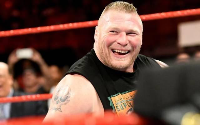 Brock Lesnar (l.) legte sich bei UFC 226 mit Schwergewichts-Champ Daniel Cormier an