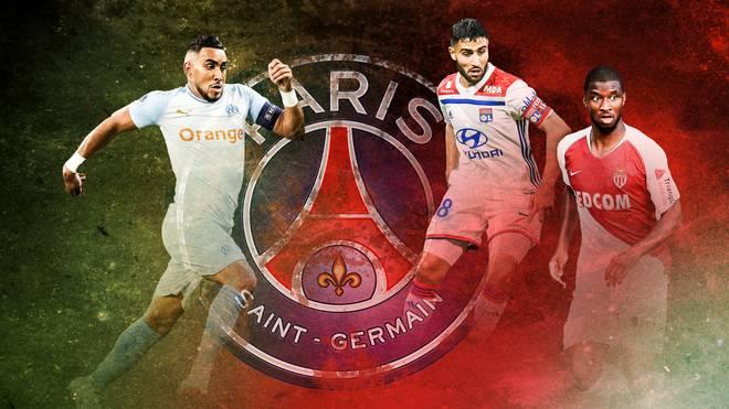 Dimitri Payet, Nabil Fekir und Keita Balde wollen PSG in der Ligue 1 Konkurrenz machen