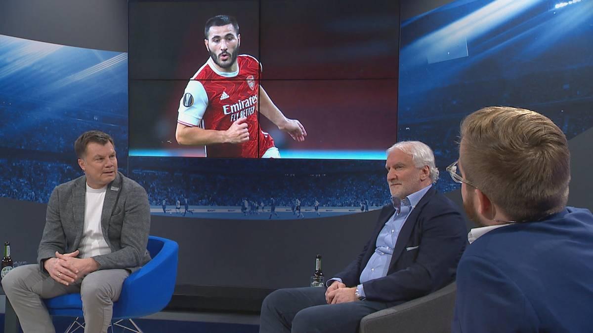 Ist Sead Kolasinac der Königstransfer für Schalke? Rudi Völler überrascht im CHECK24 Doppelpass mit der Aussage, dass auch er Interesse an einem Transfer des Linksverteidigers hatte.