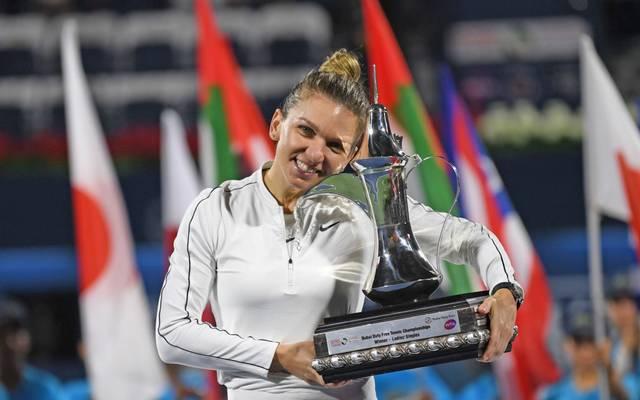 Simona Halep freut sich über ihren 20. Turniersieg