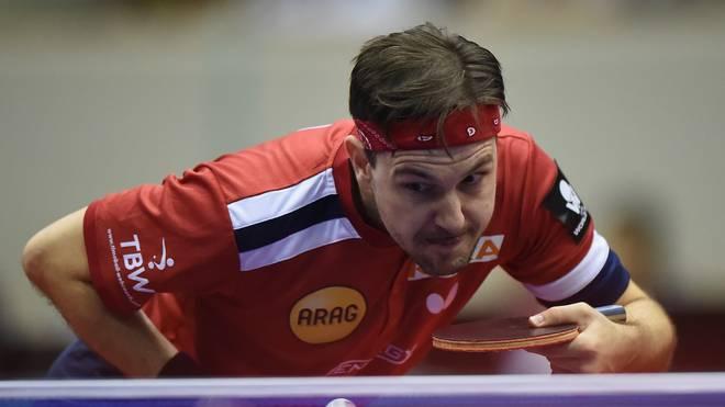 Timo Boll steht bei der Tischtennis-WM in der zweiten Runde